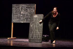 Tamlynn Bryson in (in)Decision. Photo by Hani Yassine