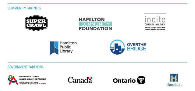 Hamilton Fringe Partner Logos